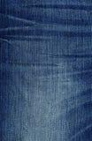 Текстура ткани джинсовой ткани - синь Стоковое фото RF