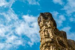 Высокая скалистая гора на национальном парке Pha Chor, Таиланде стоковая фотография rf