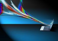 высокая скорость интернета Стоковое фото RF