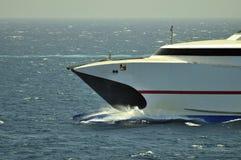 высокая скорость пассажирского корабля Стоковое фото RF