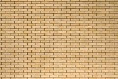 Высокая текстура разрешения желтой кирпичной стены Класть horizonta Стоковое Изображение RF