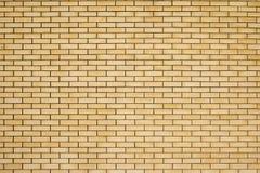 Высокая текстура разрешения желтой кирпичной стены Класть horizonta Стоковые Фото