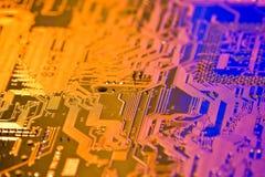 высокая технология предпосылки Стоковое Изображение RF