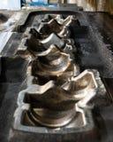Высокая точность умирает прессформа для бросать автомобильные алюминиевые части делает со сталью металла утюга стоковая фотография