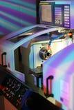 высокая точность lathe Стоковое Изображение RF