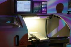 высокая точность lathe Стоковое фото RF