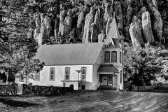 Высокая церковь горы пустыни Стоковое Изображение RF