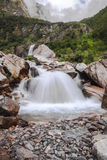 Высокие водопады на shangria Стоковое Изображение