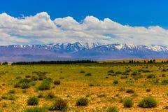 Высокие горы атласа Стоковое Изображение RF