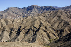 Высокие горы атласа. Стоковые Фотографии RF