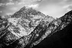 Высокие горы атласа Стоковое Фото