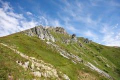 высокие горы Стоковое Фото