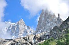 Высокие горы Стоковая Фотография