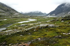 высокие горы Стоковые Фотографии RF
