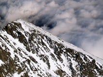 Высокие горы Tatra в зиме Стоковое фото RF