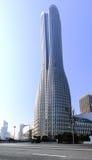 Высокие здания и скоростные дороги города Стоковое фото RF
