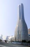 Высокие здания и скоростные дороги города Стоковая Фотография RF