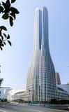 Высокие здания и скоростные дороги города Стоковое Изображение