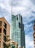 Высокие здания серферов рая, Австралии стоковые фото