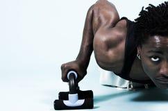 высокие ключевые pushups Стоковые Изображения