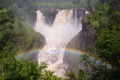 Высокие падения реки голубя Стоковые Фотографии RF