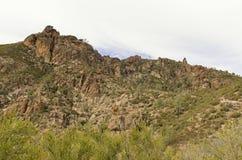 Высокие пики национального парка башенк Стоковое Изображение RF