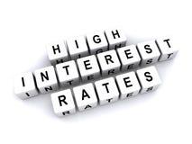 Высокие процентные ставки бесплатная иллюстрация