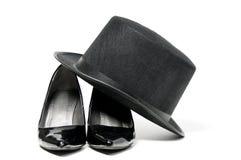 Высокие пятки и верхний шлем Стоковое Фото