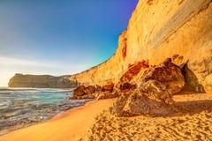 Высокие скалы Гибсона шагают, Австралия Стоковое Изображение