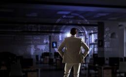 Высокие технологии для вашего успеха Мультимедиа Стоковые Изображения
