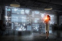 Высокие технологии для вашего успеха Мультимедиа Стоковое Изображение