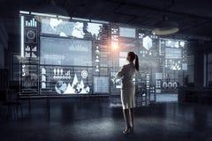 Высокие технологии для вашего успеха Мультимедиа Стоковая Фотография