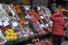 высокие цены еды Дании Стоковая Фотография