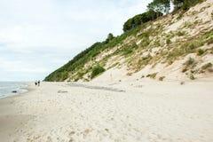 Высокие дюны Стоковое фото RF