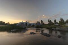 Высокие Sierras луга стоковые изображения