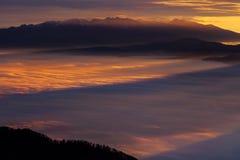 высокие tatras Словакии Стоковые Изображения