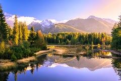 высокие tatras Стоковое Изображение