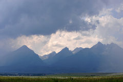 высокие tatras Стоковые Фото