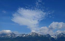 высокие tatras mountians Стоковое Изображение