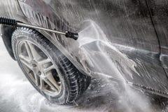 Высокий автомобиль cleanin воды давления Стоковое Фото