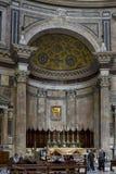 Высокий алтар пантеона стоковая фотография rf