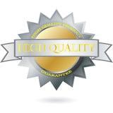 высокий вектор качества ярлыка Стоковые Изображения RF