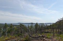 Высокий взгляд побережья Стоковое Изображение RF