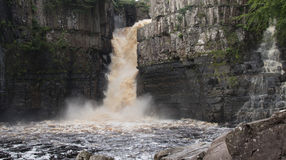Высокий водопад усилия Стоковая Фотография RF