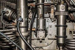 Высокий компрессор давления стоковое изображение
