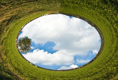 высокий мир боязни высоты разрешения Стоковая Фотография RF