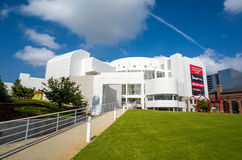 Высокий музей в центре города Атланте Стоковые Изображения