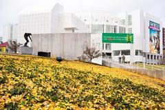Высокий музей изобразительных искусств в центре города Атланте, США стоковое фото rf