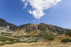 Высокий национальный парк гор Tatra Стоковые Изображения RF