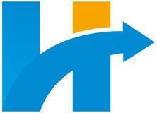 Высокий логотип Стоковые Изображения RF